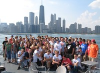 The Foundation provides assistance so that all sophomores can travel to Chicago. - click for larger image
