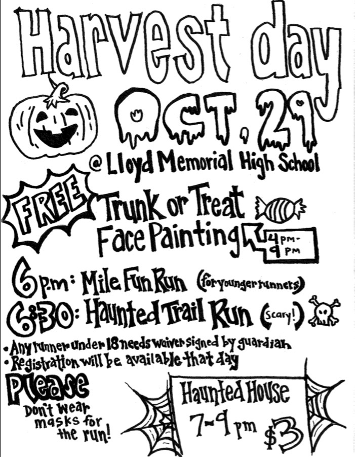 Harvest Day Flyer